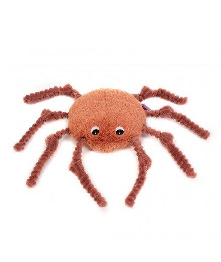 Peluche Les Ptipotos -Ricominfou l'araignée terracota
