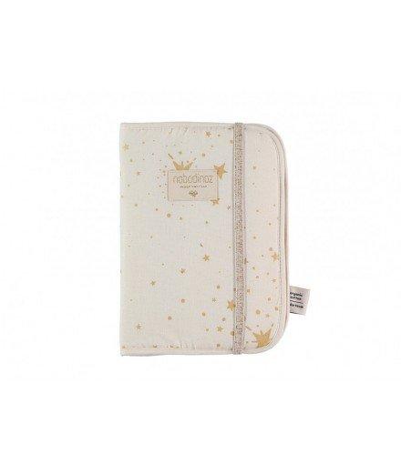 Protège carnet de santé - Gold Stella Natural