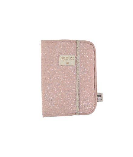 Protège carnet de santé - Bubble Misty Pink