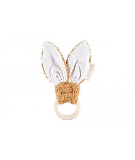 Anneau de dentition Bunny - Caramel