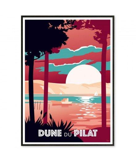 Affiche Dune du Pilat