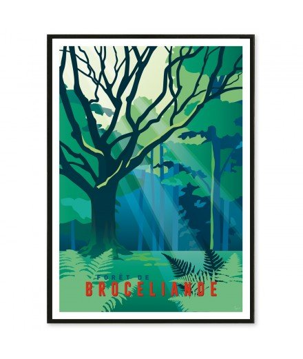 Affiche Broceliande