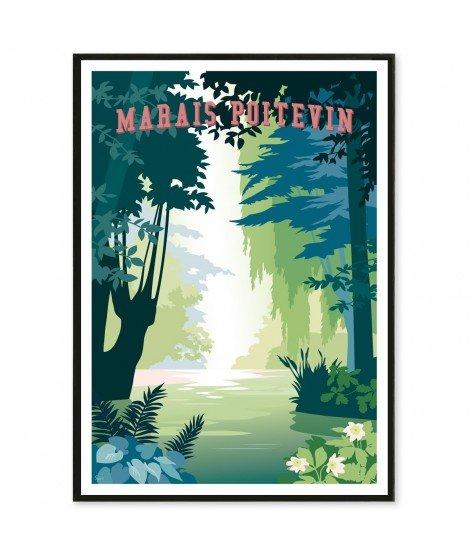 Affiche Marais Poitevin