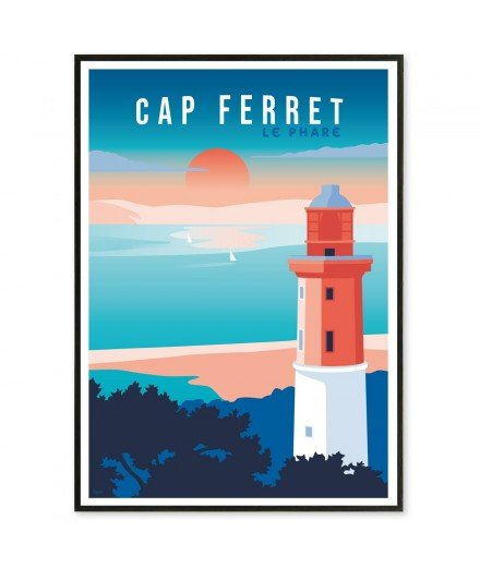 Affiche Cap Ferret