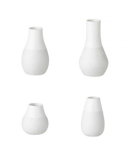 Set de 4 minis vases en céramique