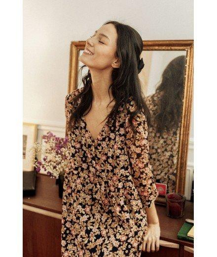 Robe courte à fleurs - Raquel