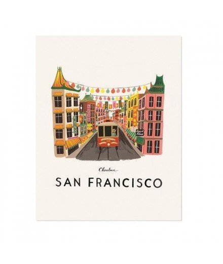 Affiche San Francisco