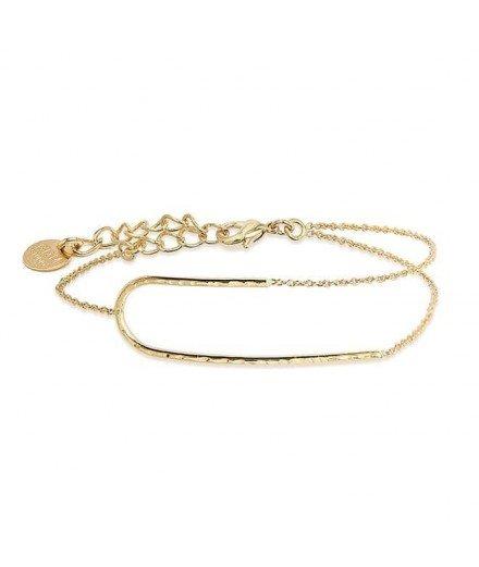 Bracelet doré à l'or fin - Colette