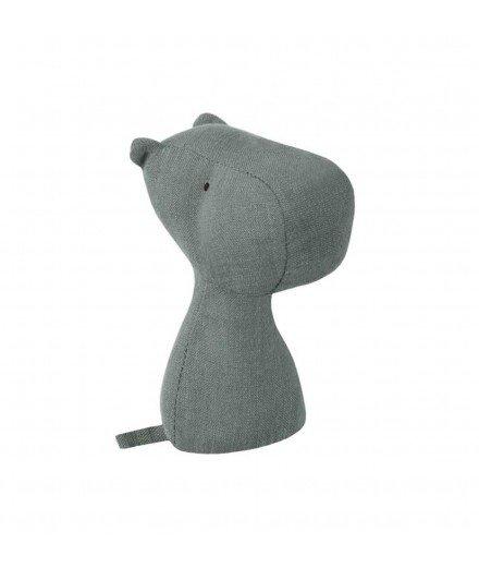 Hochet en coton - Hippopotale