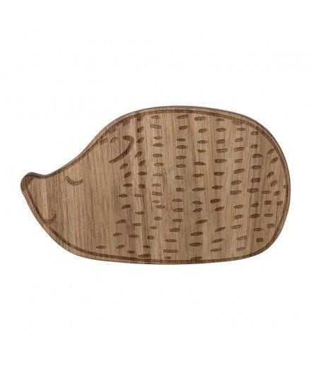 Petit planche à découper en bois - Hérisson