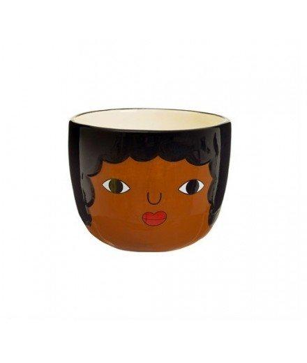 Mini cache-pot en céramique Chantelle