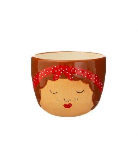 Mini cache-pot en céramique Ross