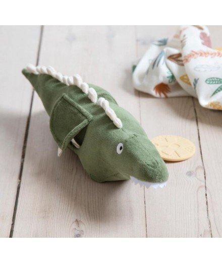 Peluche d'activités en velours - Ali l'alligator