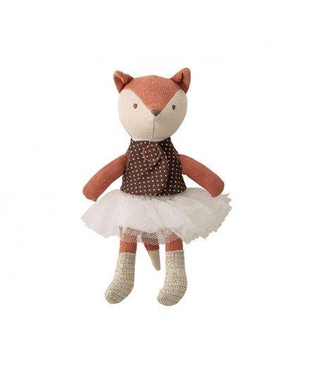 Petite poupée en tissu - Renard en tutu