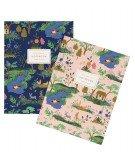 Set de 2 notebook Garden Toile