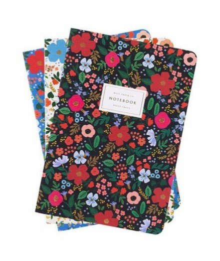 Set de 3 notebook Wild Rose