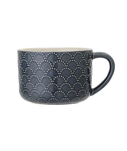 Mug Naomi en céramique - Bleu