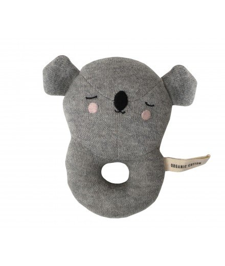 Hochet Koala en coton biologique