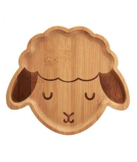 Assiette en bambou Mouton