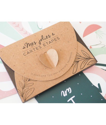 "Coffret ""Mes jolies cartes étapes"""