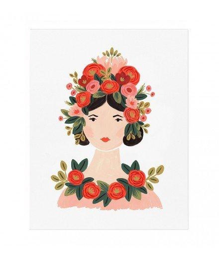 Affiche Rosa - 20 x 25 cm