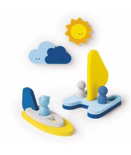 Puzzle de bain - Sail away