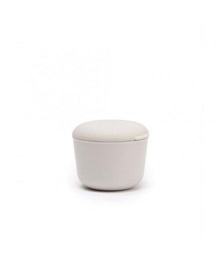 Bol hermétique bambou silicone - Gris - Petit