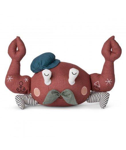 Peluche crabe matelot