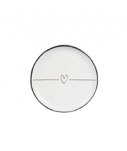 Coupelle ronde - Petit coeur