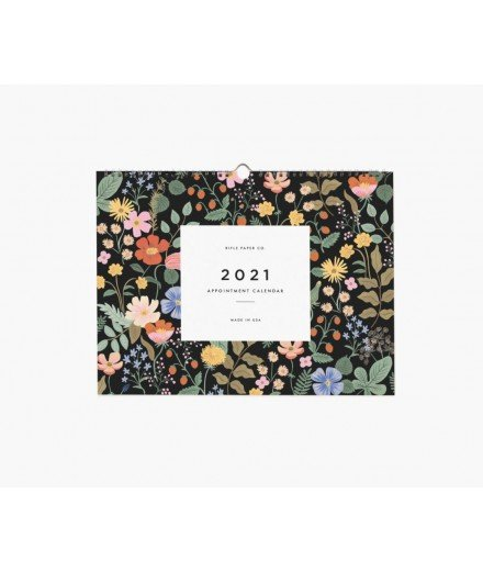 Calendrier mural 2021 - Garden Appointment