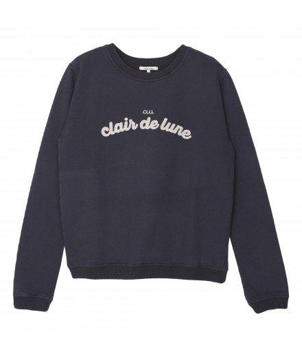 """Sweat-shirt """" Au Clair de Lune"""""""