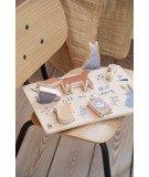 Puzzle bois pour bébé - Rêve et animaux
