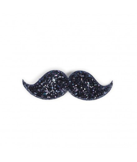 Barrette moustache