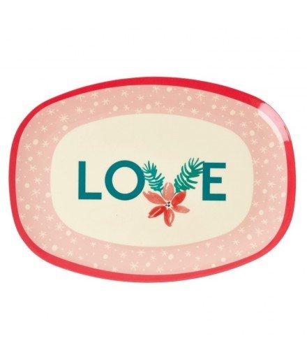 Grand plateau en mélamine - Pink Love