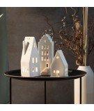 Photophore en céramique Maison - Gable