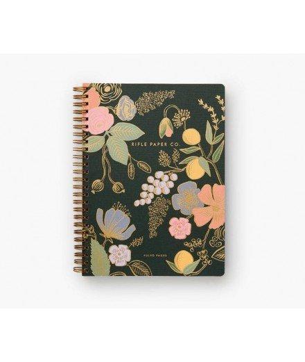 Cahier à spirales fleurs - Colette