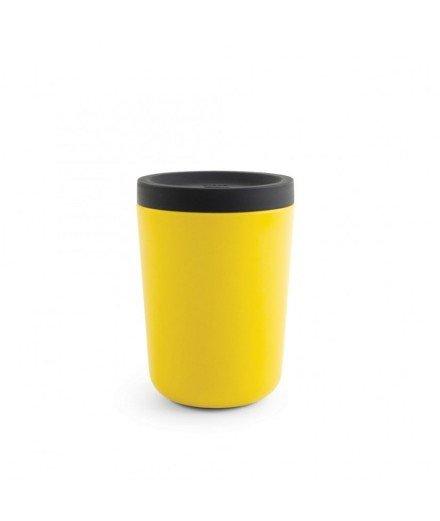 Mug réutilisable en bambou 350 mL - Jaune