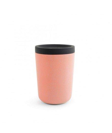 Mug réutilisable en bambou 350 mL - Rose