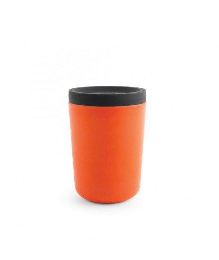 Mug réutilisable en bambou 350 mL - Corail