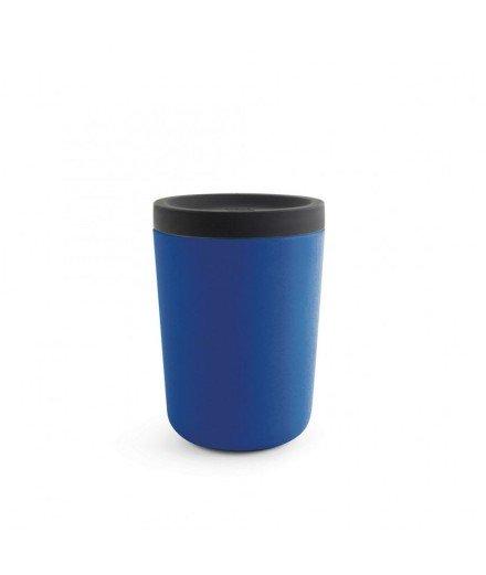 Mug réutilisable en bambou 350 mL - Bleu