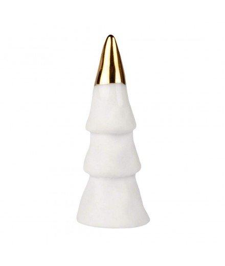 Mini figurine sapin en céramique