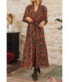 Robe longue fleurie - Clever
