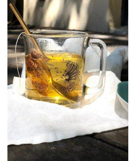 Mug en verre Duralex - Pissenlit (malo)