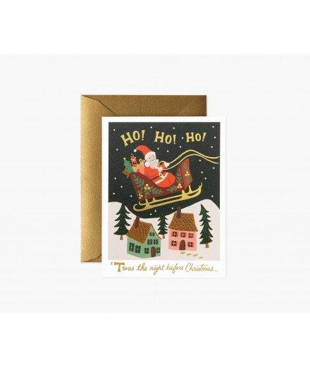 Carte de Noël - Ho ! Ho! Ho!
