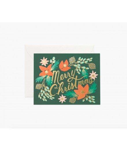 Carte de Noël - Christmas Wintergreen (LM)
