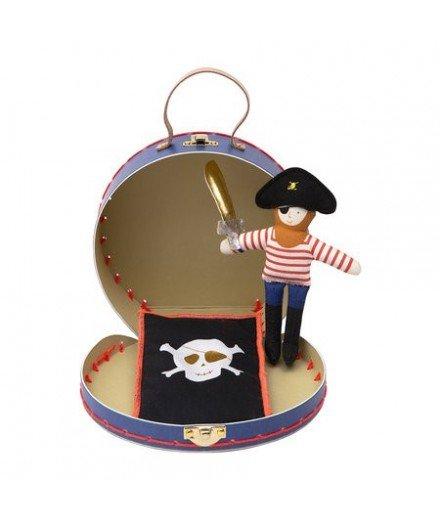 Mini valise pirate et sa poupée (à faire)
