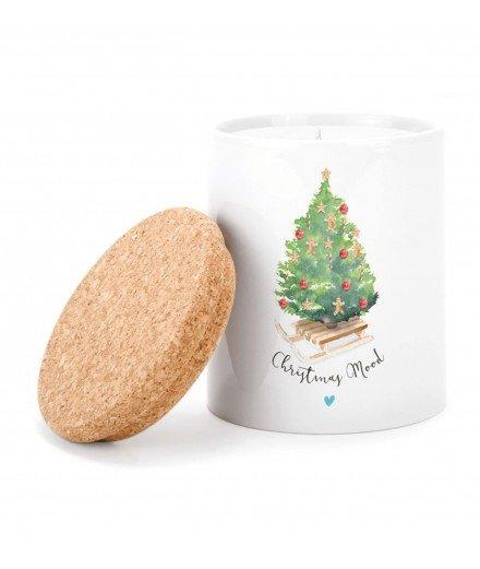 Bougie Sapin de Noël - Christmas Mood (à faire)