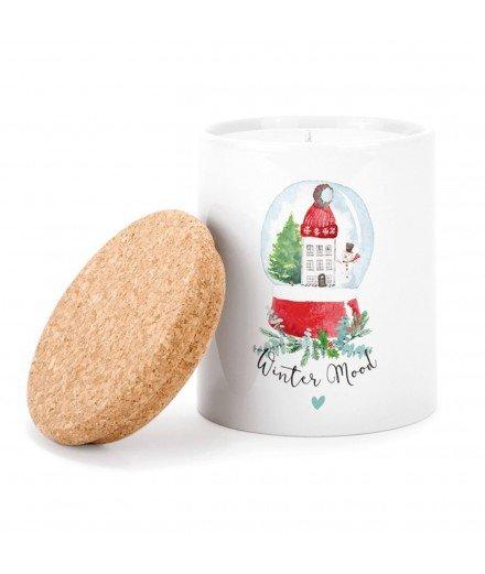 Bougie Paysage hivernal - Christmas Mood (à faire)