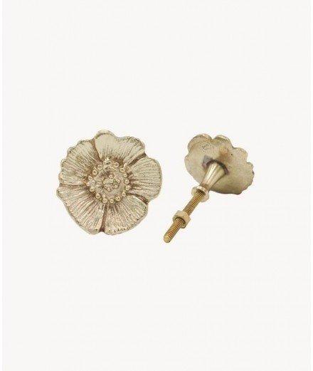 Poignée de porte en laiton Mia - Fleur doing goods (à faire)