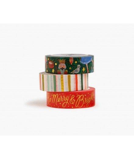 Set de 3 masking tape - Tapestry